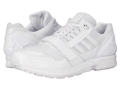adidas by Juun. J - Perf Leather ZX8000 Low JJ (FTWR White/FTWR White/FTWR White) Lace up casual Shoes