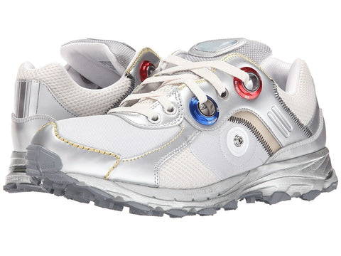 adidas by Raf Simons - Simons Response Trail Robot (Silver Metallic/Matte Silver/Iron Metallic) Lace up casual Shoes
