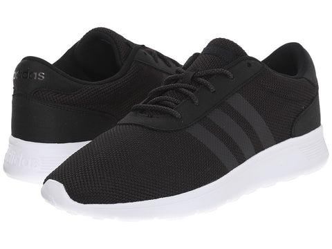 adidas - Lite Racer (Black/Black/Grey) Men's Shoes