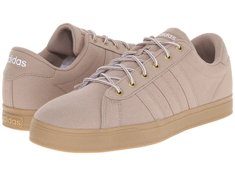 adidas - Daily (Khaki/Gum Canvas) Men's Shoes