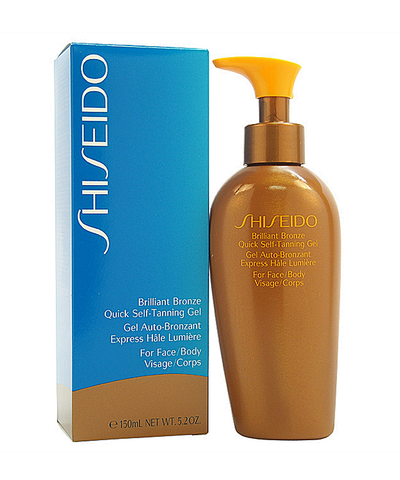 Shiseido Brilliant Bronze Quick Self Tanning Gel (for Face & Body) For Unisex 5 Oz Gel