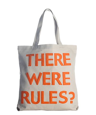 """there Were Rules?"" Everyday Tote Bag"