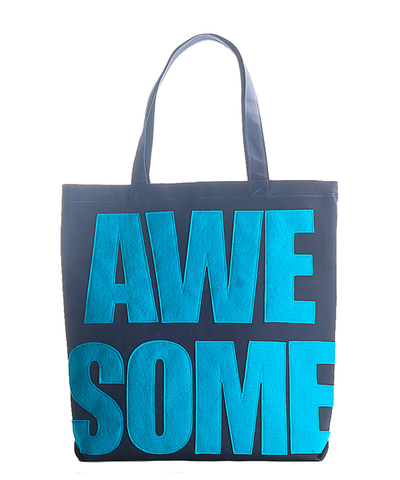 """awesome"" Everyday Tote Bag"