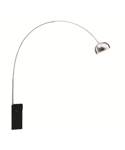 Arch Lamp Big Base, Black