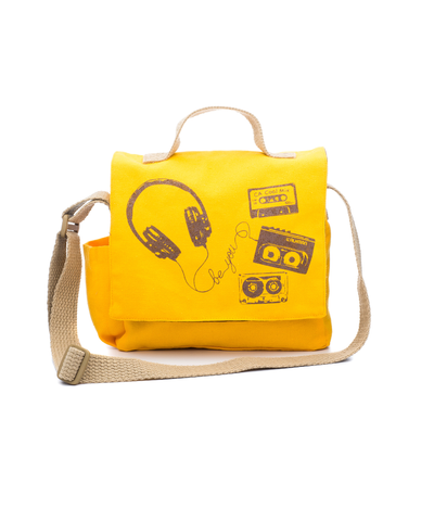 Be You Retro Mixtape Mini-messenger Kids Bag