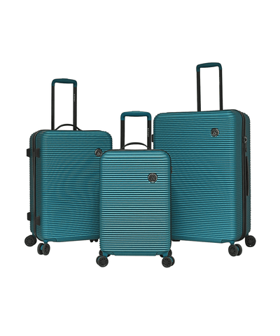 3pc (shanghai Collection) Hardside Expandable Double-spinner Luggage Set_44550