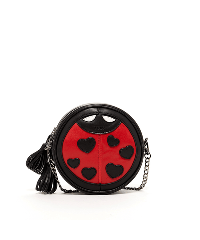 'mary' Ladybug Crossbody Leather