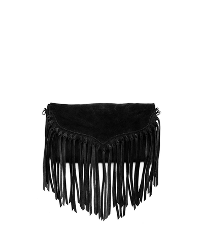 'lillian' Suede Fringe Crossbody_46539