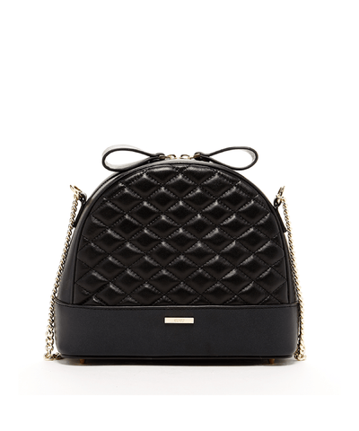 'france' Quilted Lambskin Crossbody