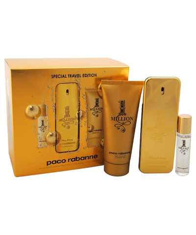1 Million By Paco Robanne For Men - 3 Pc Gift Set