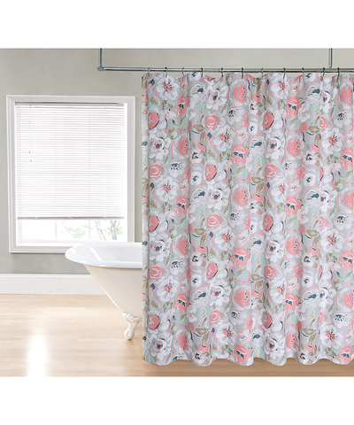 Flowers Shower Curtain_53190