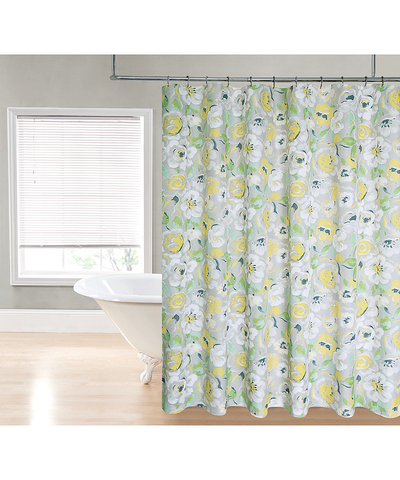Flowers Shower Curtain_53191