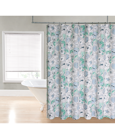 Flowers Shower Curtain_53192