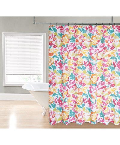 Bright Watercolor Shower Curtain_53193