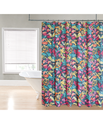 Bright Watercolor Shower Curtain_53195