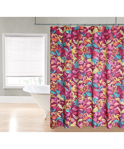 Bright Watercolor Shower Curtain_53196