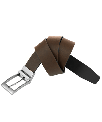 35mm Two-tone Leather Reversible Belt