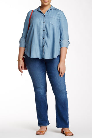 315 Shaping Bootcut Jean (Plus Size)