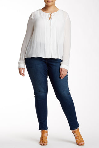Mid Rise Skinny Jean (Plus Size)-841
