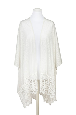 Andalucia Lace Trim Cover-Up