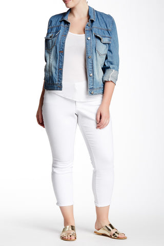 Forever Rolled Skinny Jean (Plus Size)-183