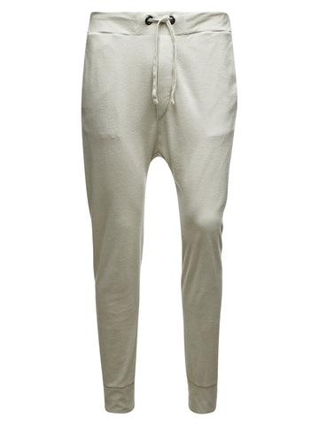 100% Cotton Towelling Baggy Jogger Pants - 04Ivory