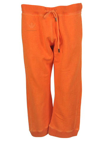 Dsquared2 Cropped Track Pants - Orange