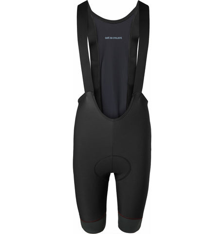 Jeanne Water-Repellent Stretch Cycling Bib Shorts Black