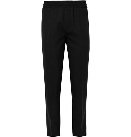 Acne Studios - Ryder L Travel Slim-fit Wool Trousers - Black