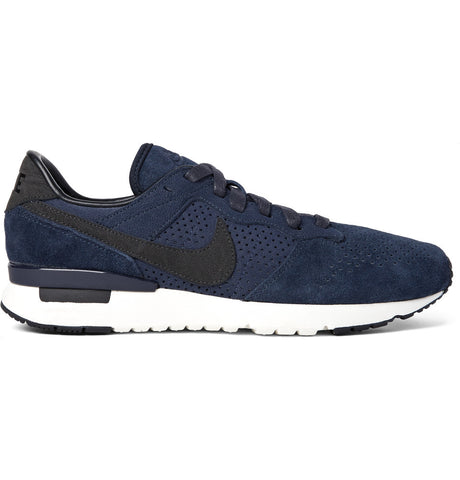 Archive 83.M LX Perforated Suede Sneakers Blue