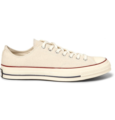 1970s Chuck Taylor All Star Canvas Sneakers Neutrals