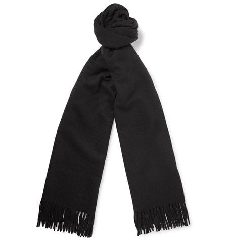 Acne Studios - Canada Virgin Wool Scarf - Black