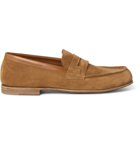281 Le Moc Suede Loafers Brown
