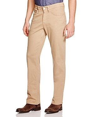 34 Heritage Charisma Relaxed Fit Twill Pants in Khaki