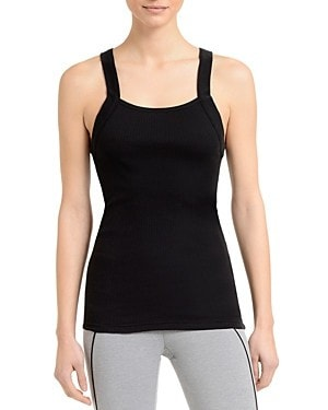 2(x)ist Square Neck Ribbed Tank-595