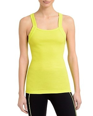 2(x)ist Square Neck Ribbed Tank-649