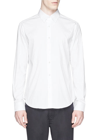 'Sylvain' stretch poplin shirt