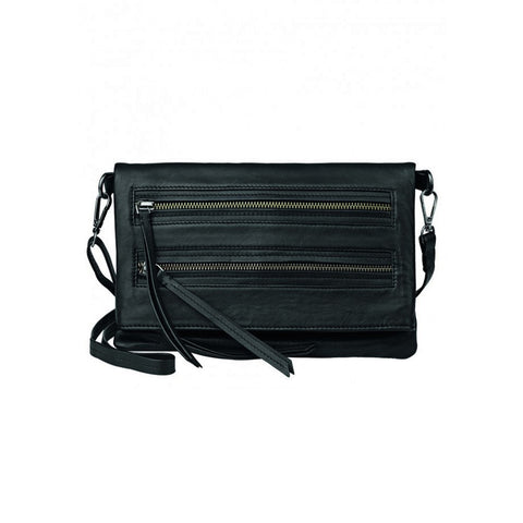 Anna Beth Leather Bag - Black