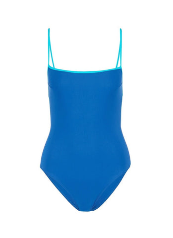 'Kenley' cutout grid back one-piece swimsuit