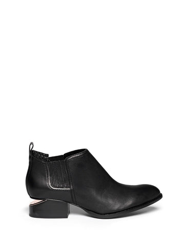 'Kori' cutout heel leather Chelsea boots