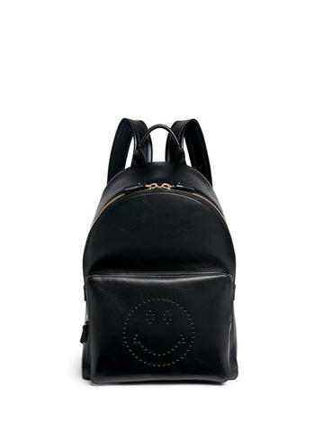 'Smiley' leather backpack-9277
