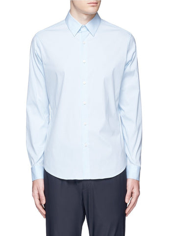 'Sylvain' point collar shirt