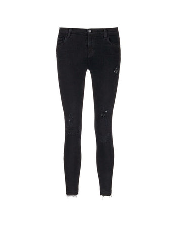 'Capri' mid rise cropped skinny jeans