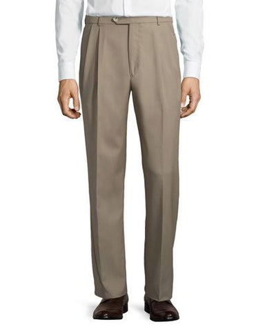 Classic-Fit Straight-Leg Trouser Pants