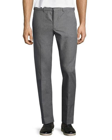 Madison Straight-Leg Trousers, Heather Gray