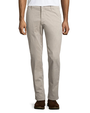 The Lux Tailored Straight-Leg Trousers, Dune Dust