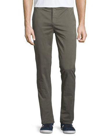 Brooks Slim-Fit Chino Trousers, Light Army
