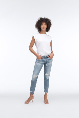 AG Jeans The Nikki Crop - 17 Years Folklore Mended 27 - Women's Women