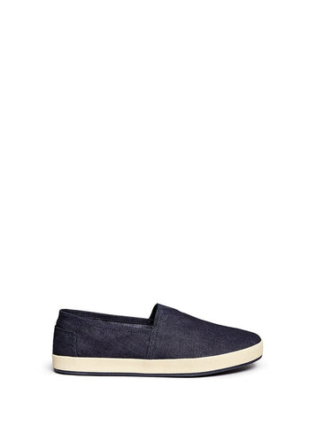 'Avalon' denim slip-ons