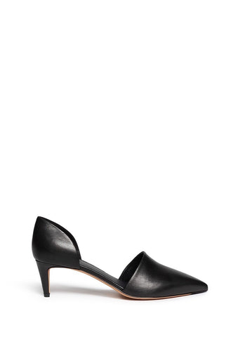 'Aurelian' leather d'Orsay pumps